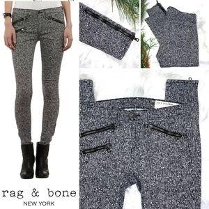 👖|•RAG & BONE•| Linton Skinny Zip Moto Jean👖
